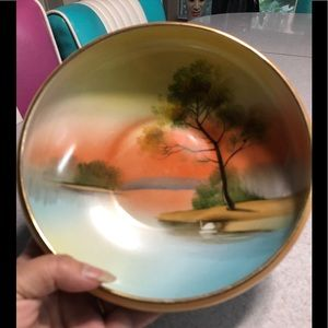 Vintage Hand Painted Bowl by Noritake